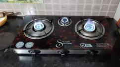 3 burner Gas Chulla for sale..