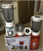 Mixier imported Black  Decker with value pack four jars