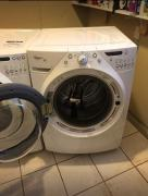 Whirpool washer and electric drier