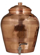 Copper Water Pot with Tap