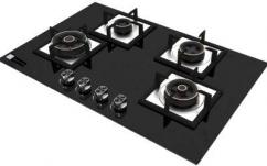 Swift 4 Burner Glass Top Hob/Gas Stove