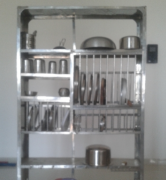 Kitchen Rack Stainless Steel