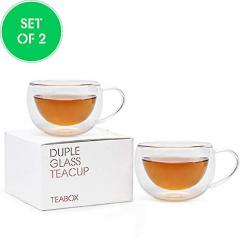 Teabox Doublewalled Glass Teacup