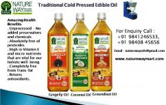 Natural Unrefined cold Pressed Cooking Oil