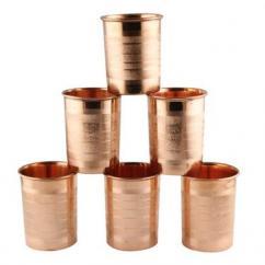 Copper Utensils Glass Set