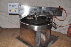 Semi-automatic chapati making machine