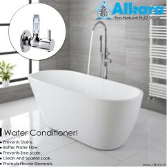 Natural water softeners for Jacuzzi/Bathtub in dehradun
