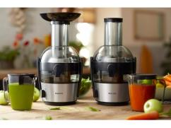Philips Viva HR1863/20 Juicer (Black & Silver)
