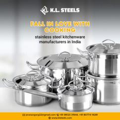 Stainless Steel Kitchenware Manufacturers