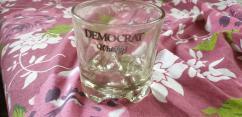 VINTAGE 90s HARD GLASS WHISKEY GLASS SET