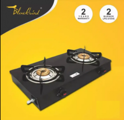 BlackBird Glass Top Gas Stove
