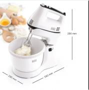 Black Decker Hand Mixer 300 watt m 700,White