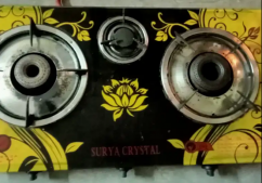 Surya Crystal ISO mark 3 burner chula