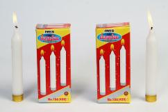 Candles-Pillar Candles-White Candles Manufacturer Indian Wax Industries