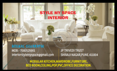 Interior Designer for residential & commercial space.