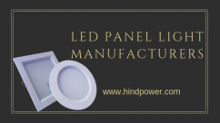 Led panel light manufacturers
