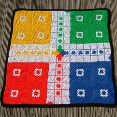 Mat Available In Ludo Pattern