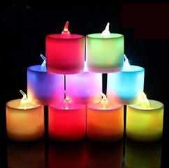 Colorful Candles In Lovely Designs