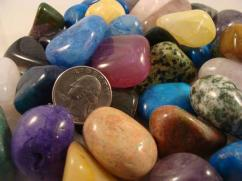 Colorful stones for home decorating purpose