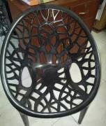 Nilkamal Crystal chairs (Black)