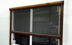 New Roller Insect Screen with Installation for Windows / Doors