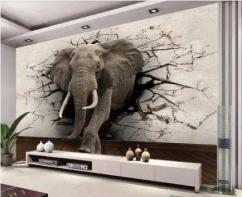 Best Designs 3D Wallpapers at best rate Rs. 70 per sqft