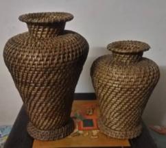 Unique Wooden Flower Vase