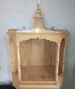 Wood mandir