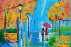 Painting of a couple
