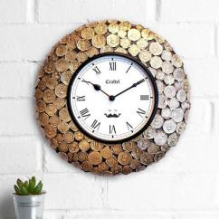 Get Best Wall Clocks Online in India at Wooden Street