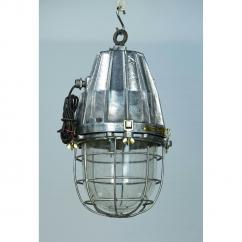 Aluminium Casting Cargo Pendant Light With Iron Cage