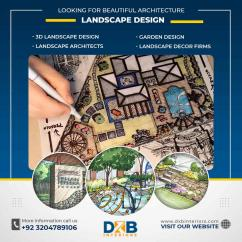 Looking for Beautiful Architecture Landscape Design Services in Lahore