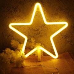 Led Lamp Light Twinkling Star Lamp