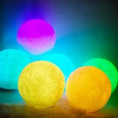 3d moon lamp with 9 led colors