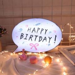 Unique Gifts DIY Bubble Led Light Box