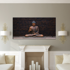 Accentuate More Wall Space with Big Paintings While Decorating Your