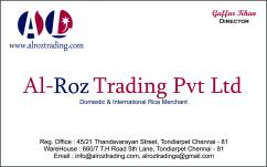 Alroz trading pvt ltd Contact Number
