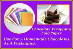Chocolate Wrapping Foil/Paper