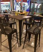 Brand new restaurant bar stool