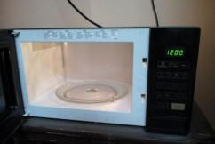 Samsung Microwave In Black Color