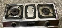 Gas Stove With Two Burners