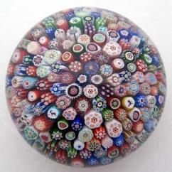 Multicolored Paper Weight In Lovely Pattern