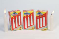 CANDLES-PILLAR CANDLES-WHITE CANDLES-MANUFACTURER INDIAN WAX INDUSTRIES