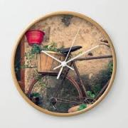 Wall Clock with lovely Print