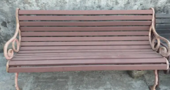 Good condition iron benches for sale