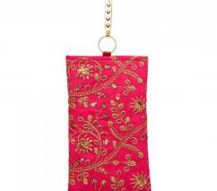 Mobile Pouch Floral string