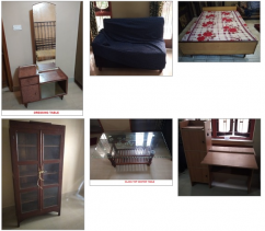 Used Household Furnitures for Sale at Throw away Prices