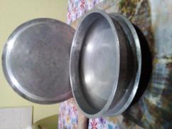 Hindalium Handi - 12 inch diameter with cover