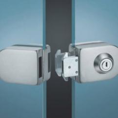 Stainless Sliding Door Lock System