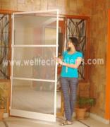 Welltech Mosquito Single Door Aluminium